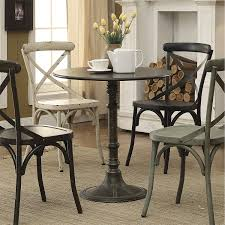 coaster furniture 100063 oswego dining table in dark homeclick com