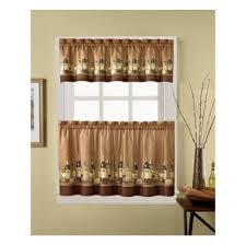 Sunflower Valance Kitchen Curtains Sunflower Window Valances Window Treatments Compare Prices At