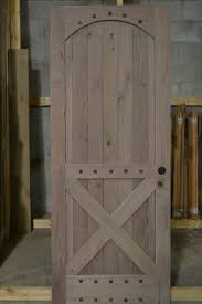 hand made rustic barn style doors by corey morgan wood works