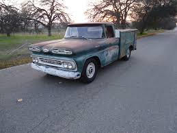 Utility Bed For Sale California Native 1961 Chevy Utility Bed Truck With Natural Patina