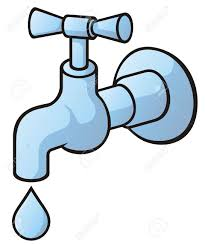 water clipart leaky faucet pencil and in color water clipart