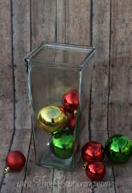 Dollar Store Vase Centerpiece Diy Ornament Vase Centerpiece Dollar Store Christmas Craft
