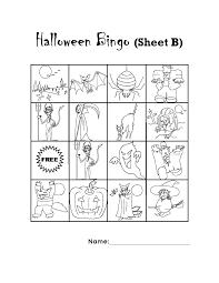 Free Halloween Bingo Printable by Delmont Blog