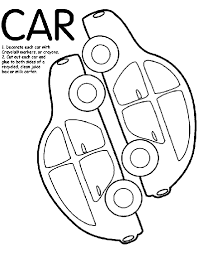 Car Box Coloring Page Crayola Com Box Coloring Pages