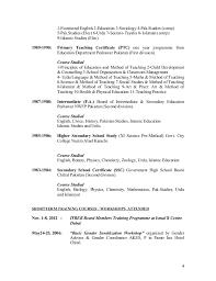 4 Resumes Samples For Teachers by Sample Resume For Urdu Teacher Resume Ixiplay Free Resume Samples