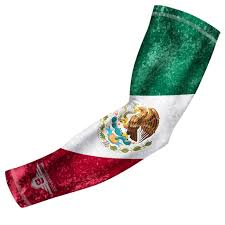 Mexico Flags Bucwild Sports Mexico Flag Compression Arm Sleeve