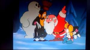 frosty snowman clip santa cheered karen