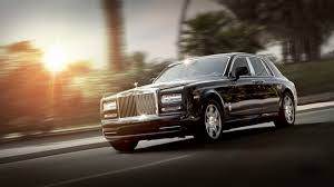 roll royce black download wallpaper 1920x1080 rolls royce phantom luxury side