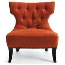 Orange Accent Chair Phenomenal Burnt Orange Accent Chair For Mid Century Modern Chair