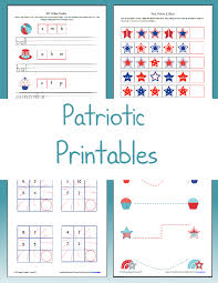 4th of july worksheets the happy housewife home schooling