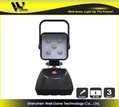 battery powered work lights 15w battery powered magnetic led work light emergency sos flashing