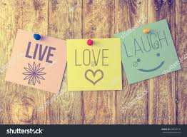 live laugh love on wooden background stock photo 338247170