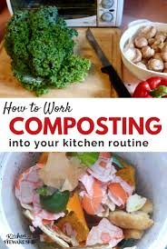 Composting Pictures by Work Composting Into Your Kitchen Routine