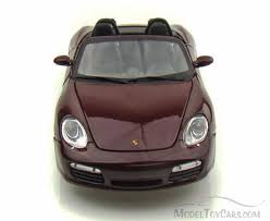 porsche model car porsche boxster s convertible maroon maisto 31123 1 18 scale