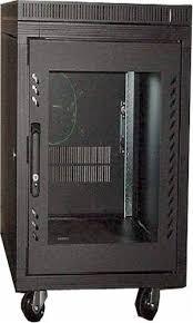 15u server rack cabinet 15u cabinet 23 5x31 5x36 h black only 165 lbs server case