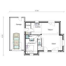 plan maison rdc 3 chambres plan maison rdc 3 chambres maison chtre avec garage 3 chambres