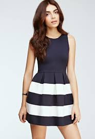 fit and flare dress forever 21 forever 21 striped fit flare dress you ve been added to the