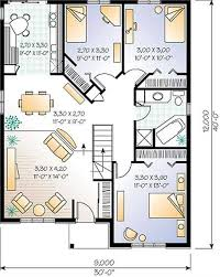 bungalo house plans floor plan small cottage floor plan with top simple house living