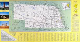 United States Highway Map by File Official Map Nebraska State Highway System 1962 Png