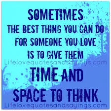 The Best Quote About Love by Sometimes The Best Thing You Can Do For Someone You Love Is To