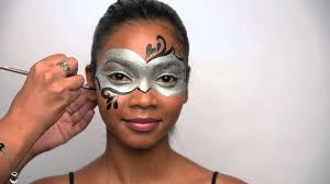 halloween masquerade mask how to paint a masquerade mask for halloween youtube