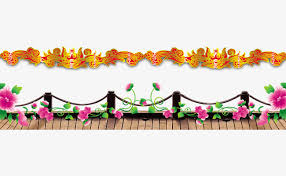 Banisters Flowers Plane Roadside Railing Product Kind Railing Flowers Png And Psd