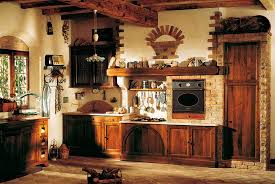 antique kitchen design idea with old fashioned style and vintage