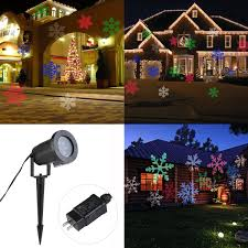 Outdoor Christmas Lights Amazon by Amazon Com Leorx Christmas Light Projector Colorful Moving