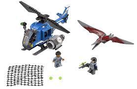 jurassic park car lego lego jurassic world 75915 pteranodon capture amazon co uk toys