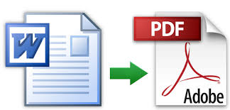 Word To Pdf Step To Convert Word To Pdf
