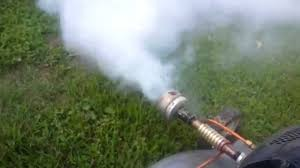 lawn mower fogger diy homemade with parts explanation youtube
