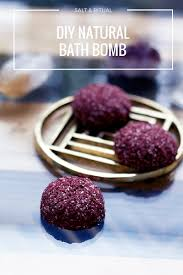 diy natural bath bomb recipe u2014 salt u0026 ritual
