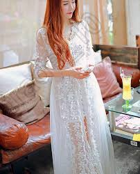 fairy princess tulle dress white lace high slit dress long solid