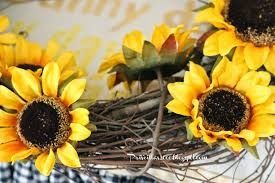 burlap sunflower wreath priscillas diy sunflower wreath