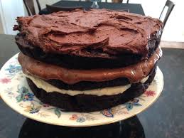 ombre brownie cake u2013 barb in tn
