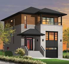 contemporary modern house plan with 1883 square feet and 3