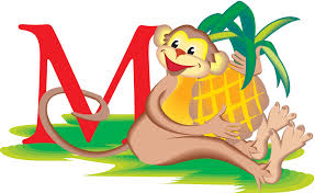 free preschool alphabet worksheets letter m is for monkey words