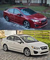 subaru sti 2017 2017 subaru impreza sedan vs 2011 subaru impreza sedan