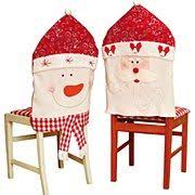 Christmas Chair Back Covers Add A Festive Touch To Your Dining Room Table And Seats With The
