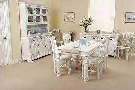 white dining room set furniture white rustic set for dining room photo of
