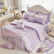 girls full bedding sets princess lace single double bedding set twin full queen king
