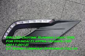 hyundai elantra daytime running lights professional 8w led drl daytime running light for hyundai elantra