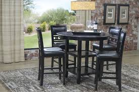 Dining Room Sets 4 Chairs Mor Furniture For Less The Gia Counter Height Table With 4 Chairs