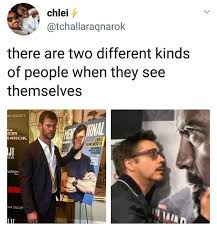 Different Kinds Of Memes - i m chris there are two different kinds of people when they see