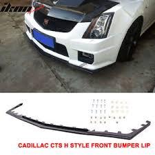 cadillac cts bumper 09 14 cadillac cts v sedan h style front bumper valance spoiler