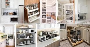kitchen appliance storage cabinet 34 best kitchen appliance storage ideas