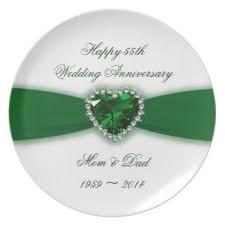 55th wedding anniversary custom wedding anniversary decorative plates uk