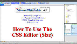 free ebay auction templates how to change css size width and height when generating free ebay