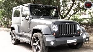 mahindra thar modification company in mumbai executive modcar