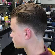 photo of the back of hair with a short bob how to slick your hair back mens slicked hairstyles